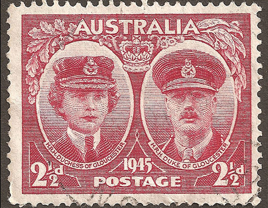 Duke of G stamp