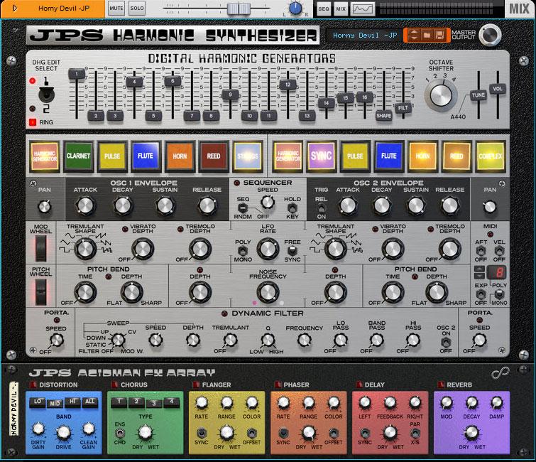 JPS Harmonic Synthesizer